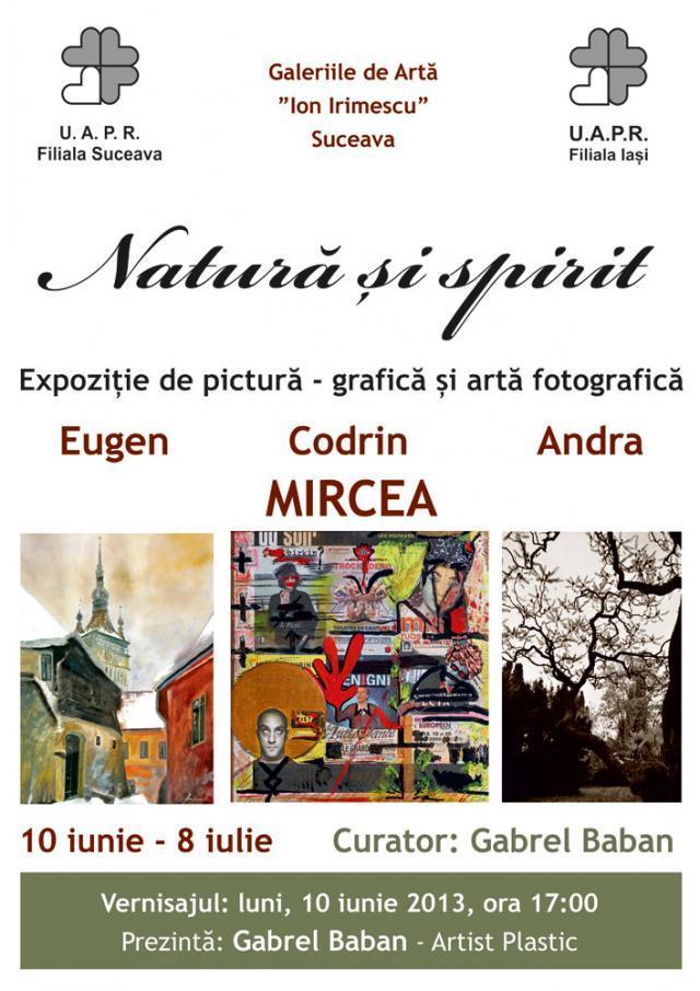 Expoziţia Natură şi spirit