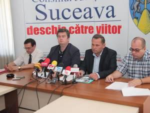 Eugen Mogoş, Cătălin Nechifor, Ioan Măriuţa şi Cristi Cocuz