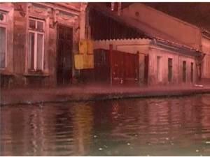 inundaţie ca urmare a ploii torenţiale