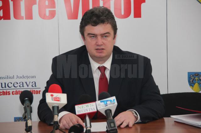 """Cătălin Nechifor a precizat că activitatea Consiliului Judeţean Suceava a fost """"elegantă, decentă, fără dificultăţi majore"""""""