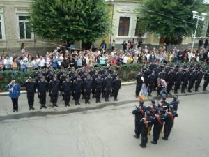 Ceremonia de absolvire a promoţiei 2013 de la Şcoala de Subofiţeri Jandarmi Fălticeni