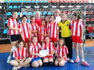 Echipa de minihandbal a LPS Suceava a fost la un pas de o medalie naţională