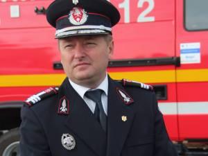 Inspectorul-şef al ISU Suceava, colonelul Dan Hoffman