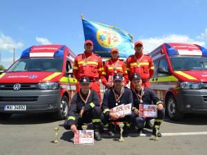 Echipajul ISU Suceava s-a calificat la etapa naţională