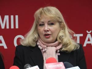 Preşedintele Organizaţiei Judeţene de Femei din PSD, Carmen Agoutin