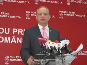 Senatorul PSD de Fălticeni, Ovidiu Donţu