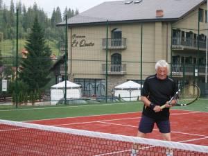 Constantin Semaca, decanul de vârstă al competiţiei