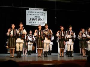 Trofee şi premii pentru ansamblurile folclorice ale Clubului Copiilor Vatra Dornei