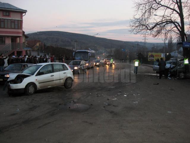 Bucan a provocat, în 2008, un cumplit accident la ieșirea din Fălticeni, după ce a lovit un grup de persoane care stăteau la ocazie