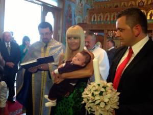 Elena Udrea a botezat copilul unui lider PDL