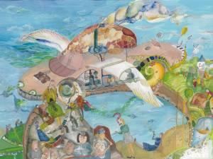 """""""Maşina visurilor"""" imaginată de Iasmina are abilitatea de a schimba gândurile rele în altele bune"""
