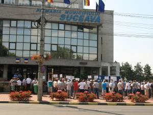protest salariaţi Termica