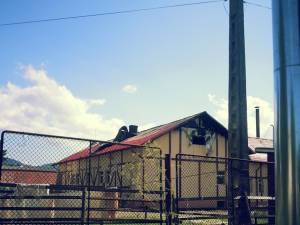 Incendiul a izbucnit în zona acoperişului, dar s-a manifestat cu precădere în interiorul halei, distrugând instalaţia de prelucrare a laptelui
