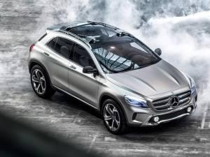 Mercedes GLA este numele unui nou SUV de clasă mică