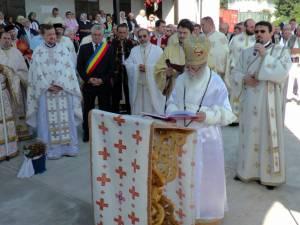 O nouă biserică târnosită, la Cimitirul Pacea Nou