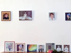 """Vernisajul expoziţiei de artă plastică """"În amintirea Simonei"""""""