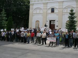 protestul a avut loc doar marţi şi miercuri
