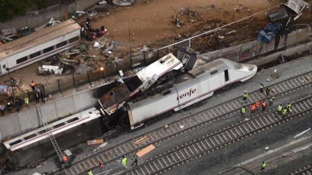 Bilanţul victimelor catastrofei feroviare din Spania a ajuns la 80 de morţi
