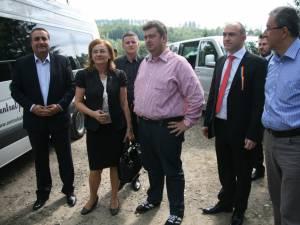 Nechifor i-a prezentat ministrului turismului proiectul Safari Adventure Park Bucovina