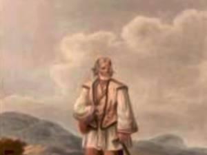 Huţan din Ţibău – acuarelă de Franz Jaschke (1775-1842)