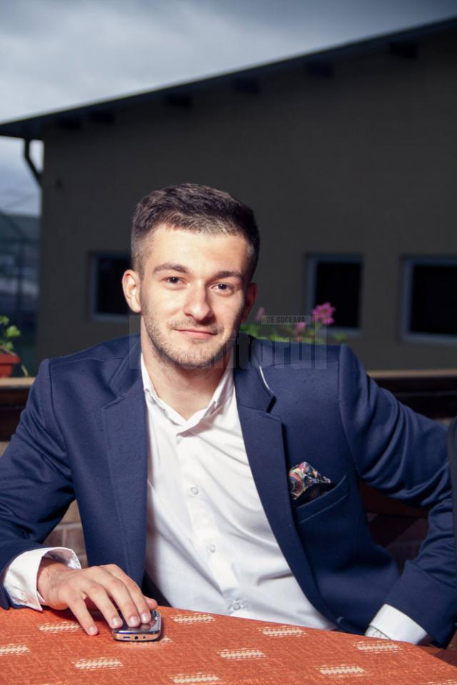 Andrei Juncă, viitor student la Copenhagen Business Academy (CBA)