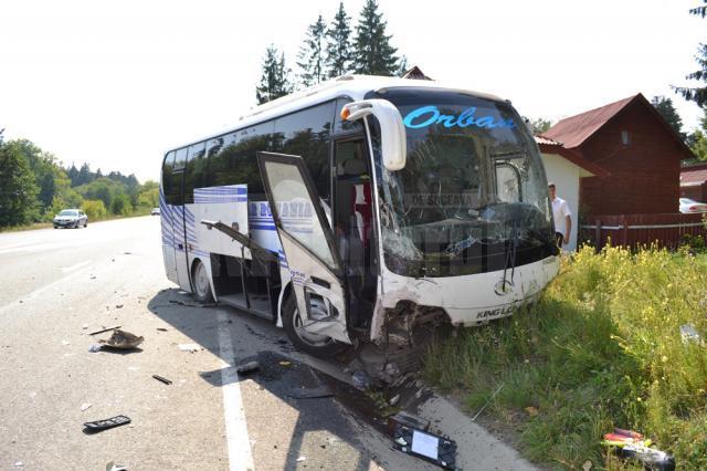 Accident cu trei victime, în dreptul cabanei de la Ilişeşti