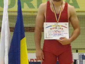 Bogdan Amărculesei a adus una din cele două medalii de argint