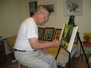 Pictorul Ştefan Danilevici