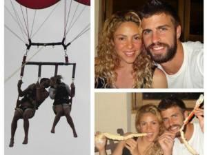 Album de familie: Shakira, Pique şi Milan