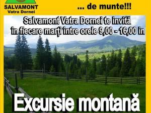 Via ferrata şi drumeţii montane, oferite gratuit turiştilor de către salvamontiştii dorneni