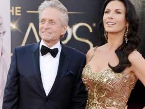 Zvonuri privind despărţirea actorilor Michael Douglas şi Catherine Zeta-Jones