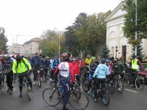 Organizatorii aşteaptă peste 100 de ciclişti la marşul de sâmbătă