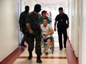 Pacientul Juravle, dus în cărucior la arest