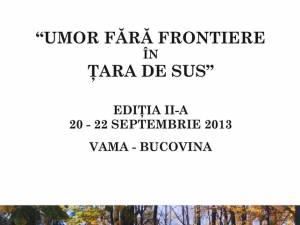 """Festivalul """"Umor fără frontiere în Ţara de Sus"""""""