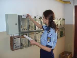 Peste 2.500 de scrisori cu recomandări preventive vor fi distribuite în cutiile poştale pentru prevenirea înşelăciunilor