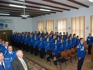 15 fete din judeţ au depus dosare pentru admitere la Şcoala Militară de Subofiţeri Jandarmi Fălticeni, faţă de doar trei anul trecut