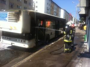 Pompierii au stabilit că incendiul a fost provocat de un scurtcircuit