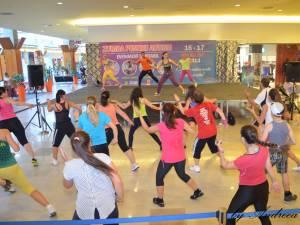 """Patru instructori au organizat un eveniment sportiv-caritabil, numit """"Zumba pentru Autism"""""""