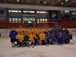 Turneul de la Braşov a fost o primă verificare din această vară pentru echipa de old-boys Suceava