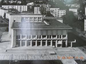 Casa de Cultură, după inaugurare, în 1969