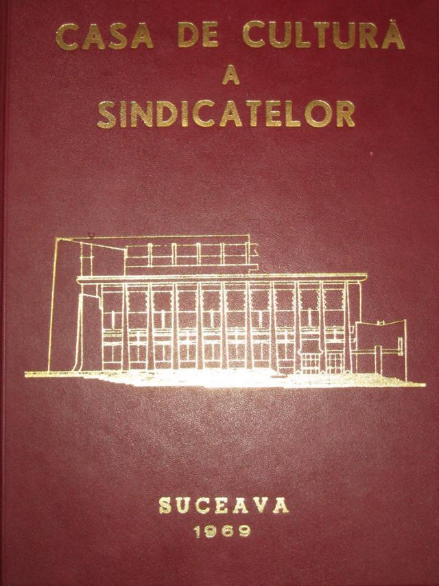 Cartea de onoare a Casei de Cultură Suceava