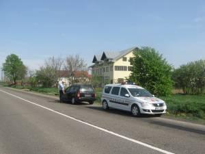 Agenţii de poliţie rutieră au aplicat 159 de amenzi, 126 fiind pentru depăşirea limitelor de viteză