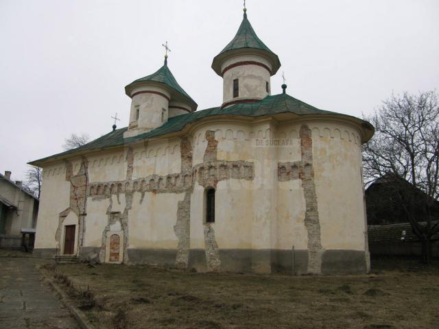 Biserica de la Ilişeşti, monument istoric, unică în Moldova, în pericol iminent de prăbuşire