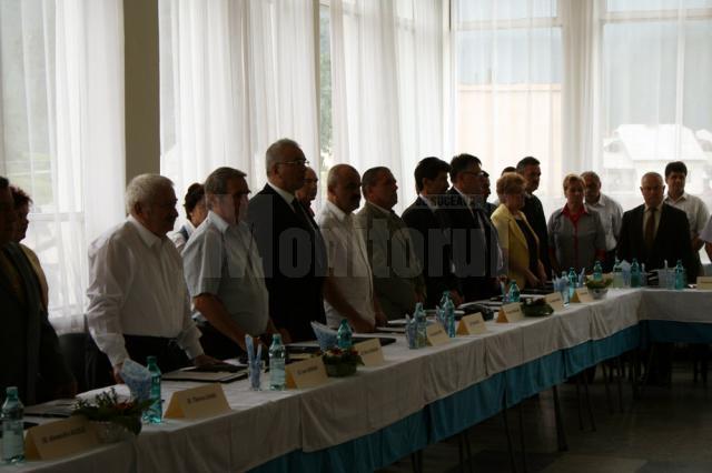 Aniversarea a 30 de ani de la punerea în exploatare a zăcământului minier Crucea Botuşana