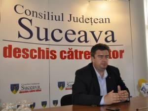 Preşedintele Consiliului Judeţean, Cătălin Nechifor