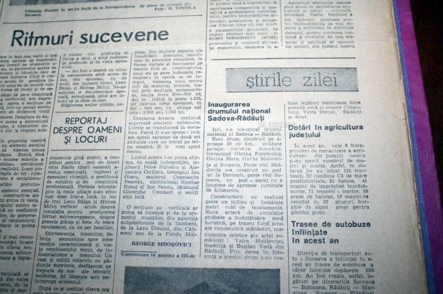 """Ziarul """"Zori Noi"""", decembrie 1968"""
