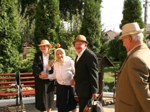 Artemizia şi Traian Palanciuc, ea de 86 de ani şi el de 83 de ani, s-au recăsătorit după opt ani de la divorţ