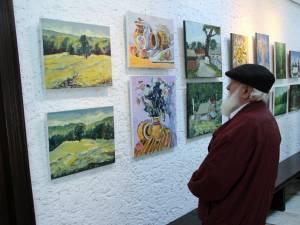 Vernisajul expoziţiei de pictură Tabăra de la Pătrăuţi