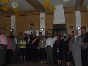 Nuntă de aur pentru cuplurile din Adâncata, organizată de primăria locală