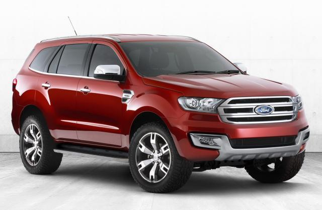 Ford Everest își pregătește debutul